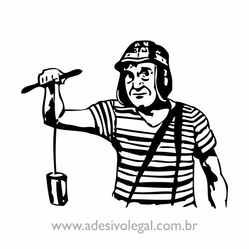 Adesivo - Chaves Brincando