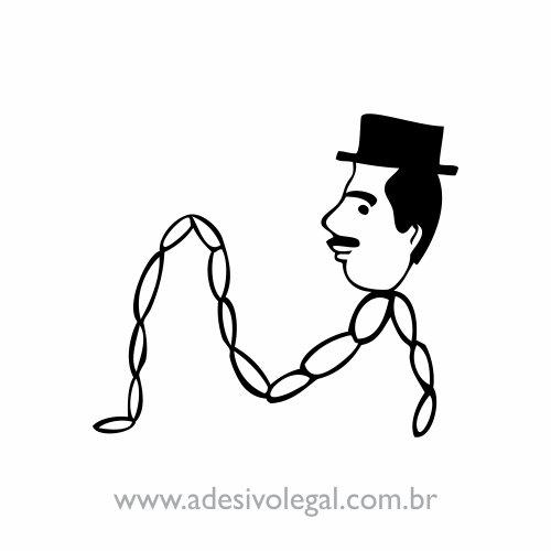 Adesivo - Professor Linguiça