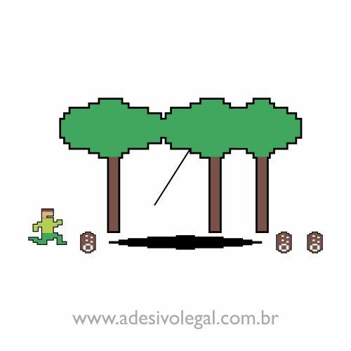 Adesivo - Pitfal - Atari