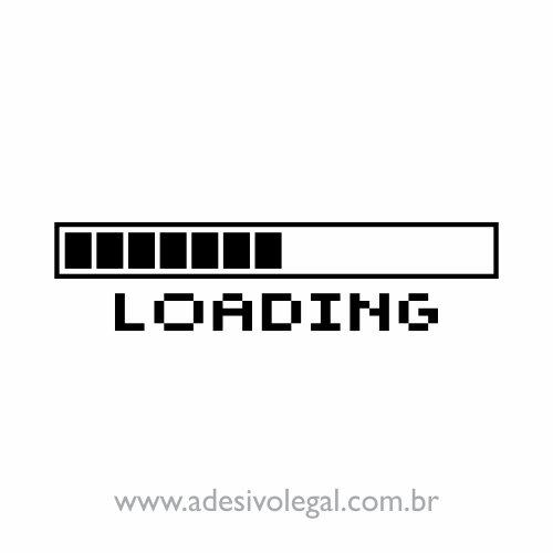 Adesivo - Loading