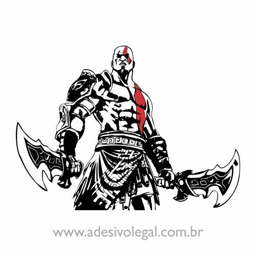 Adesivo - Kratos - God of War