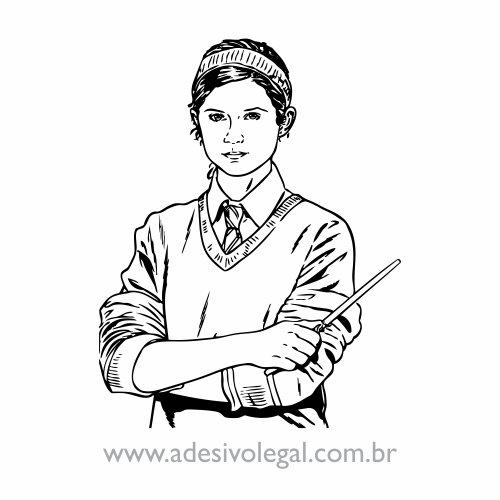 Adesivo - Ginny Weasley
