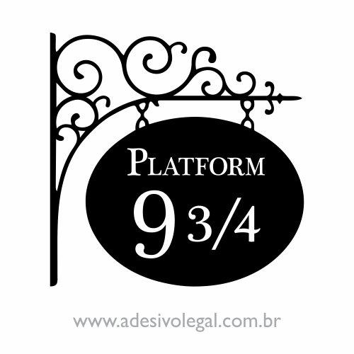 Adesivo - Plataforma 9 3/4