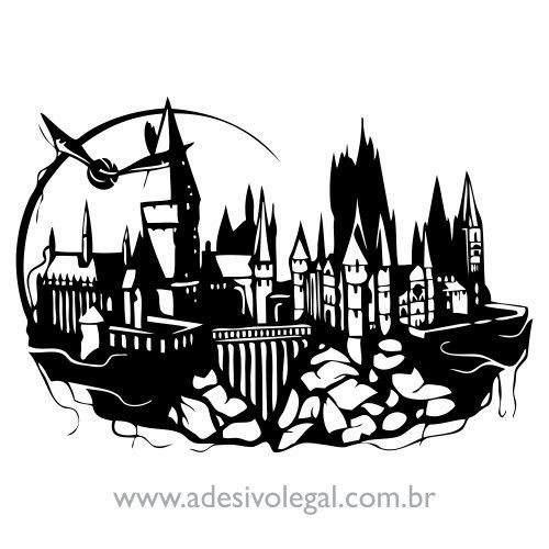 Adesivo - Hogwarts