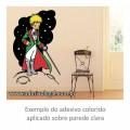Adesivo - O Pequeno Príncipe com Espada - Colorido