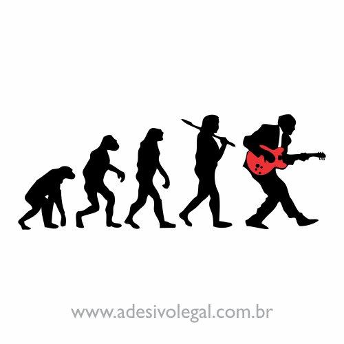 Adesivo - Rock Evolution
