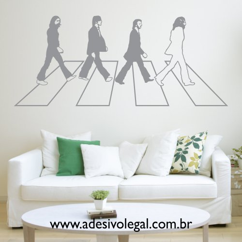 Adesivo - The Beatles - Abbey Road
