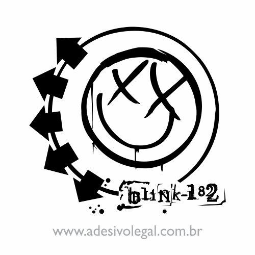 Adesivo - Blink 182