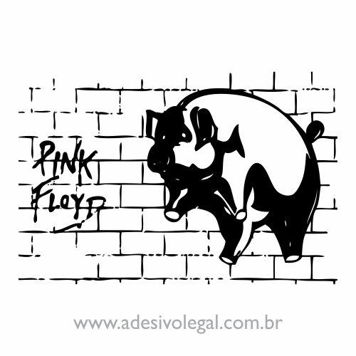 Adesivo - Pink Floyd - Pig