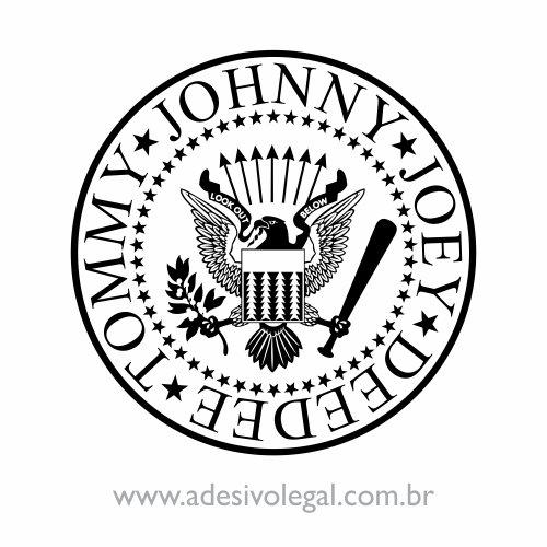 Adesivo - Ramones - Brasão
