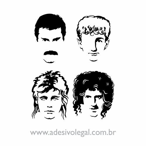 Adesivo - Queen - Hot Space