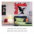 Adesivo - Black Sabbath