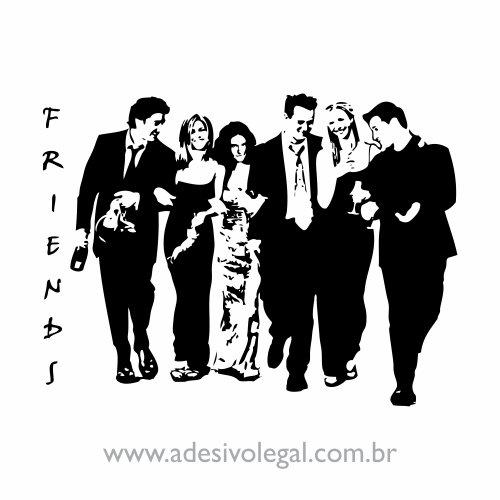 Adesivo - Seriado - Friends