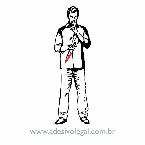 Adesivo - Seriado - Dexter