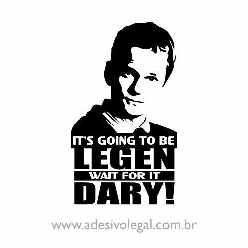 Adesivo - Seriado - How I Met Your Mother - Barney Stinson