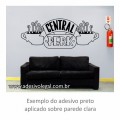 Adesivo - Seriado - Friends - Central Perk