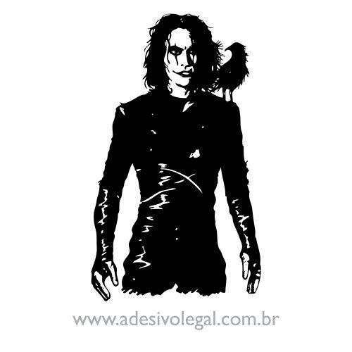 Adesivo - Filme - O Corvo