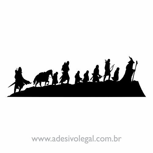 Adesivo - Filme - O Senhor dos Anéis