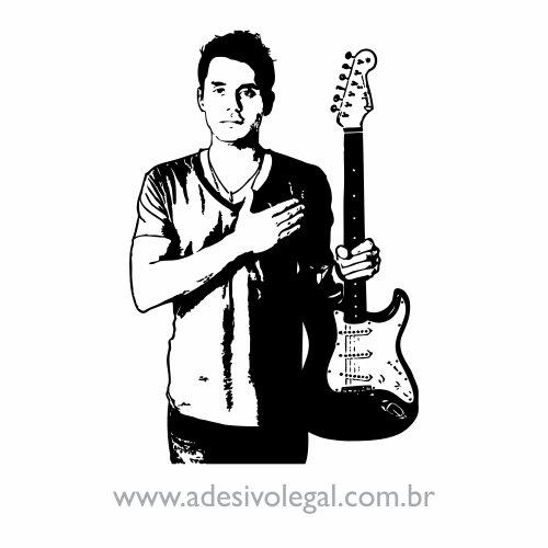 Adesivo - Famoso - John Mayer
