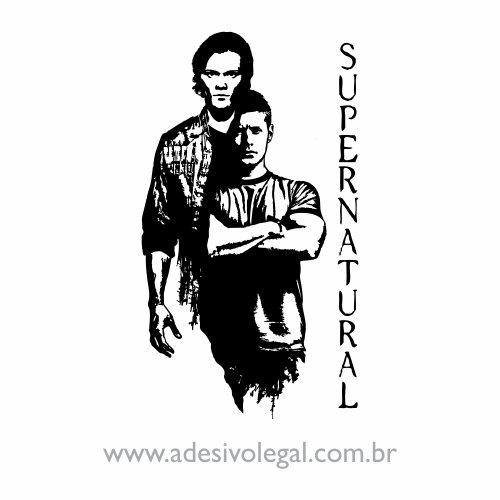 Adesivo - Seriado - Supernatural - Sam e Dean