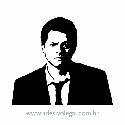 Adesivo - Seriado - Supernatural - Castiel