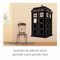 Adesivo - Seriado - Doctor Who - Tardis