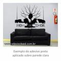 Adesivo - Seriado - Game of Thrones - Hold The Door
