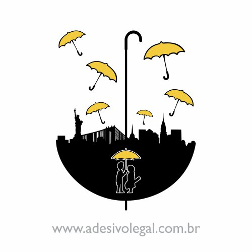 Adesivo - Seriado - How I Met Your Mother