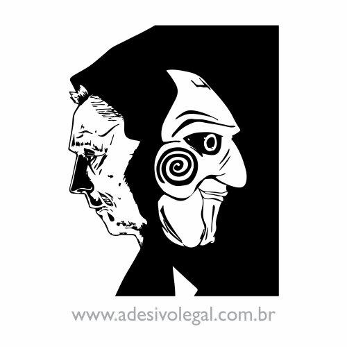 Adesivo - Filme - JigSaw - Jogos Mortais