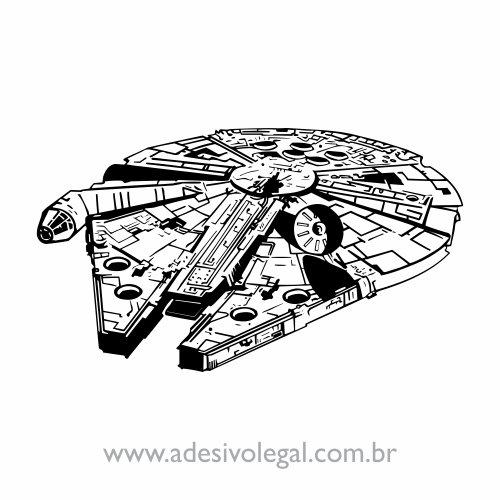 Adesivo - Star Wars - Millennium Falcon