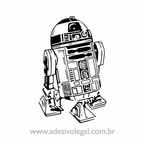 Adesivo - Star Wars - R2D2
