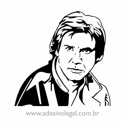 Adesivo - Star Wars - Han Solo