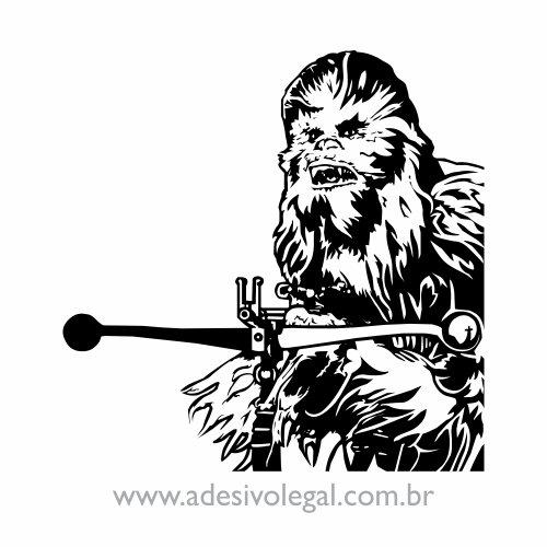 Adesivo - Star Wars - Chewbacca