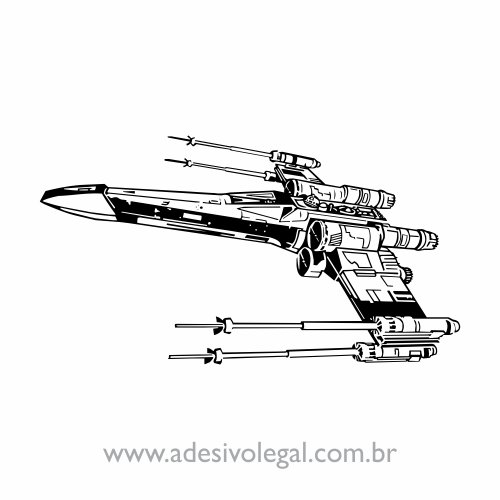 Adesivo - Star Wars - X Wing