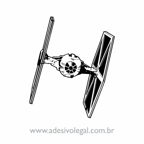 Adesivo - Star Wars - TIE Fighter