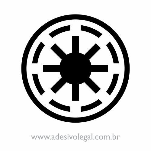 Adesivo - Star Wars - República Galáctica