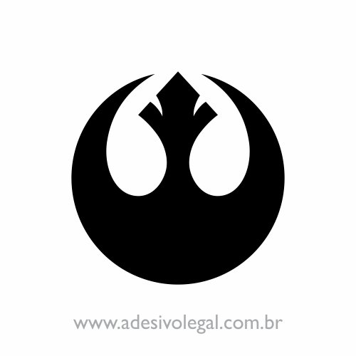 Adesivo - Star Wars - Aliança Rebelde