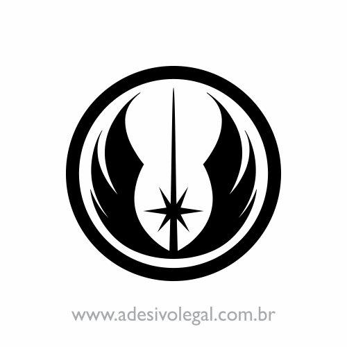 Adesivo - Star Wars - Ordem Jedi